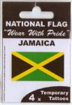Jamaica Country Flag Tattoos.